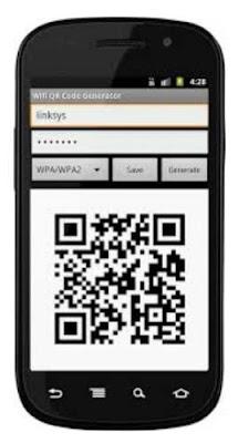 condividere la password del proprio WiFi home con un Codice QR fornito da un'app dedicata.