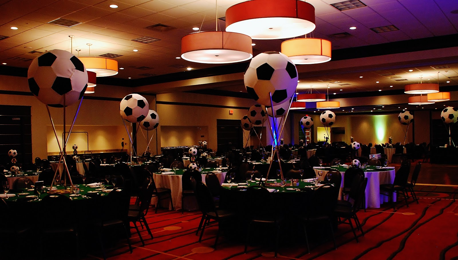 Soccer Decorations For Tables