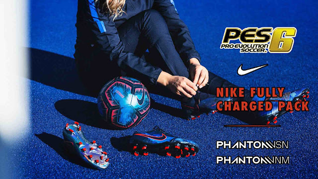 PES 6 Nike Fully Charged Boots Pack 2019