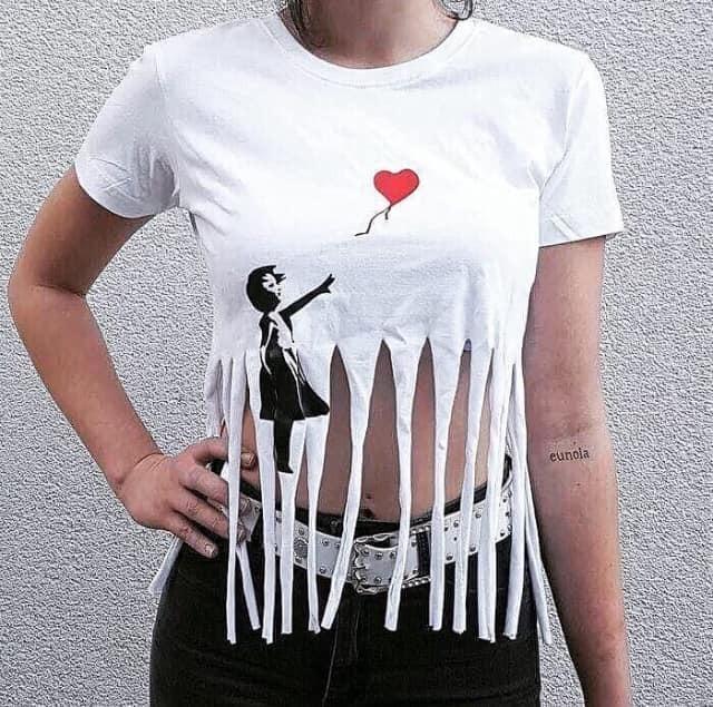 maglietta Banksy