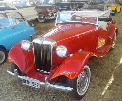 Este MG TD 1952 estava disponível para venda.