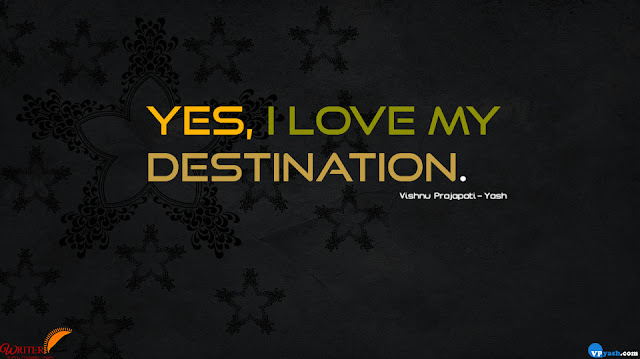 I love my destination inspiring quotes
