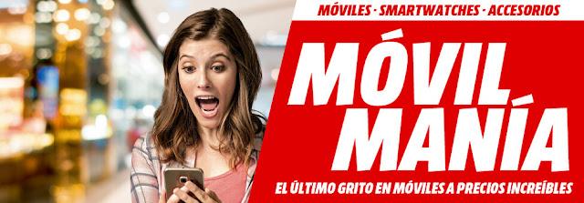 Top 10 móviles folleto Móvil Manía de Media Markt