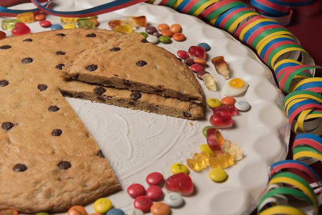galleta de chocolate tamaño familiar - Las Recetas de la Bruja
