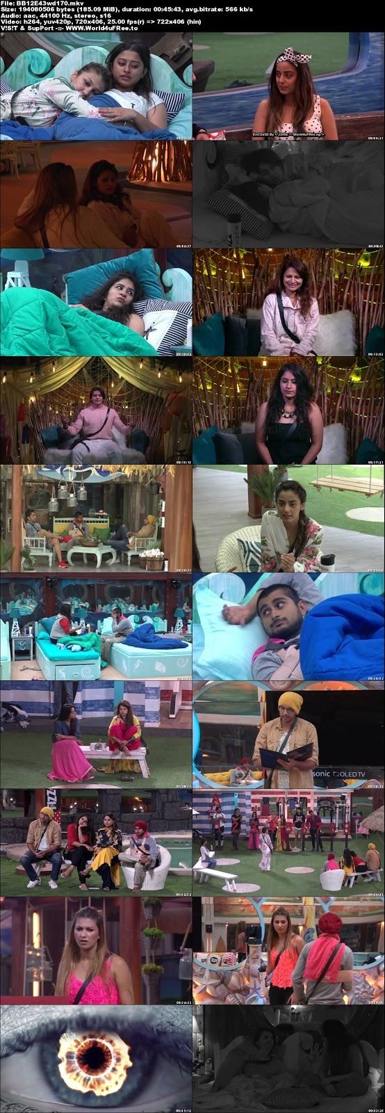 Bigg Boss 12 Episode 43 29 October 2018 WEBRip 480p 170Mb x264 world4ufree.vip tv show Episode 40 26 October 2018 world4ufree.vip 200mb 250mb 300mb compressed small size free download or watch online at world4ufree.vip