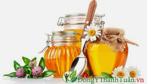Thực phẩm chữa viêm họng - Mật ong
