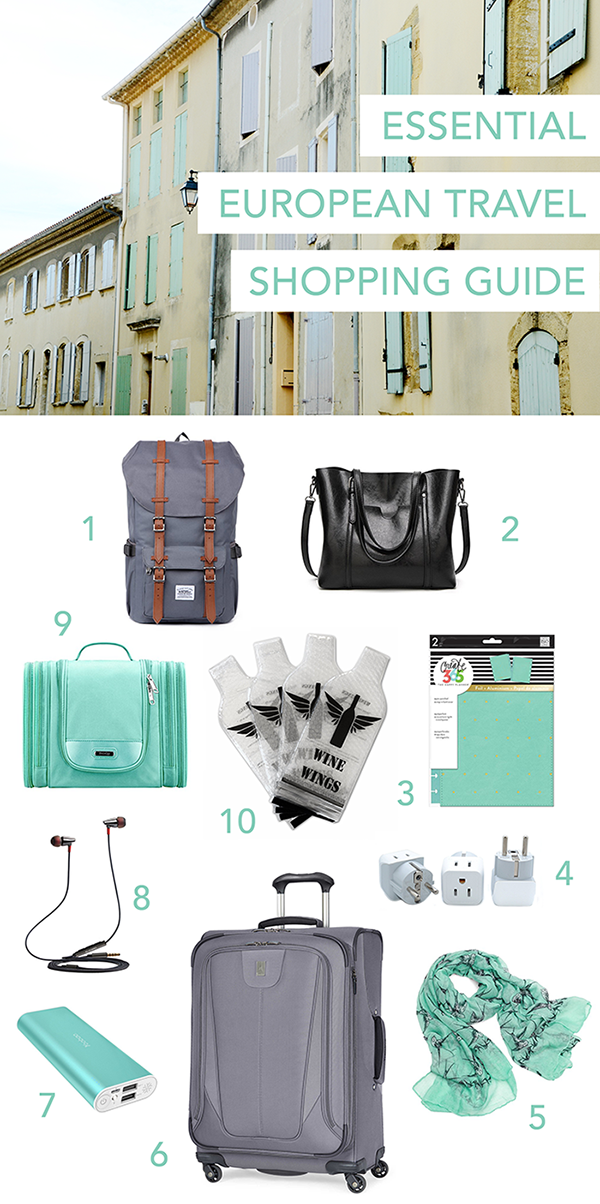 Essential European Travel Shopping Guide /// By Faith Towers Provencher of Design Fixation