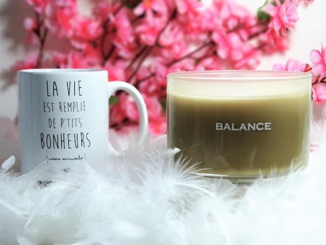 avis Making Memories - Bougie 3 mèches Balance (Sugared Vanilla) de Yankee Candle, blog bougie, blog parfum, blog beauté