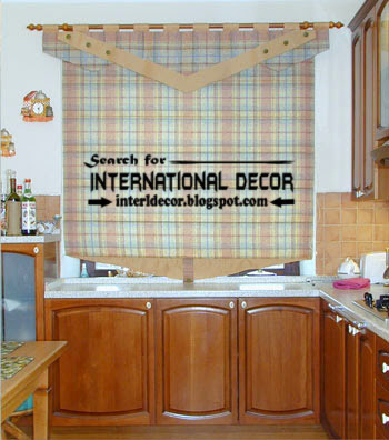 kitchen curtains designs ideas 2016, curtains blinds for kitchens
