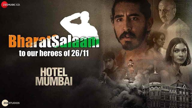 Bharat Salaam Lyrics - Hotel Mumbai | B Praak, Sunidhi Chauhan