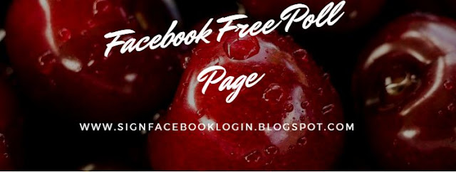 Facebook Free Poll Page
