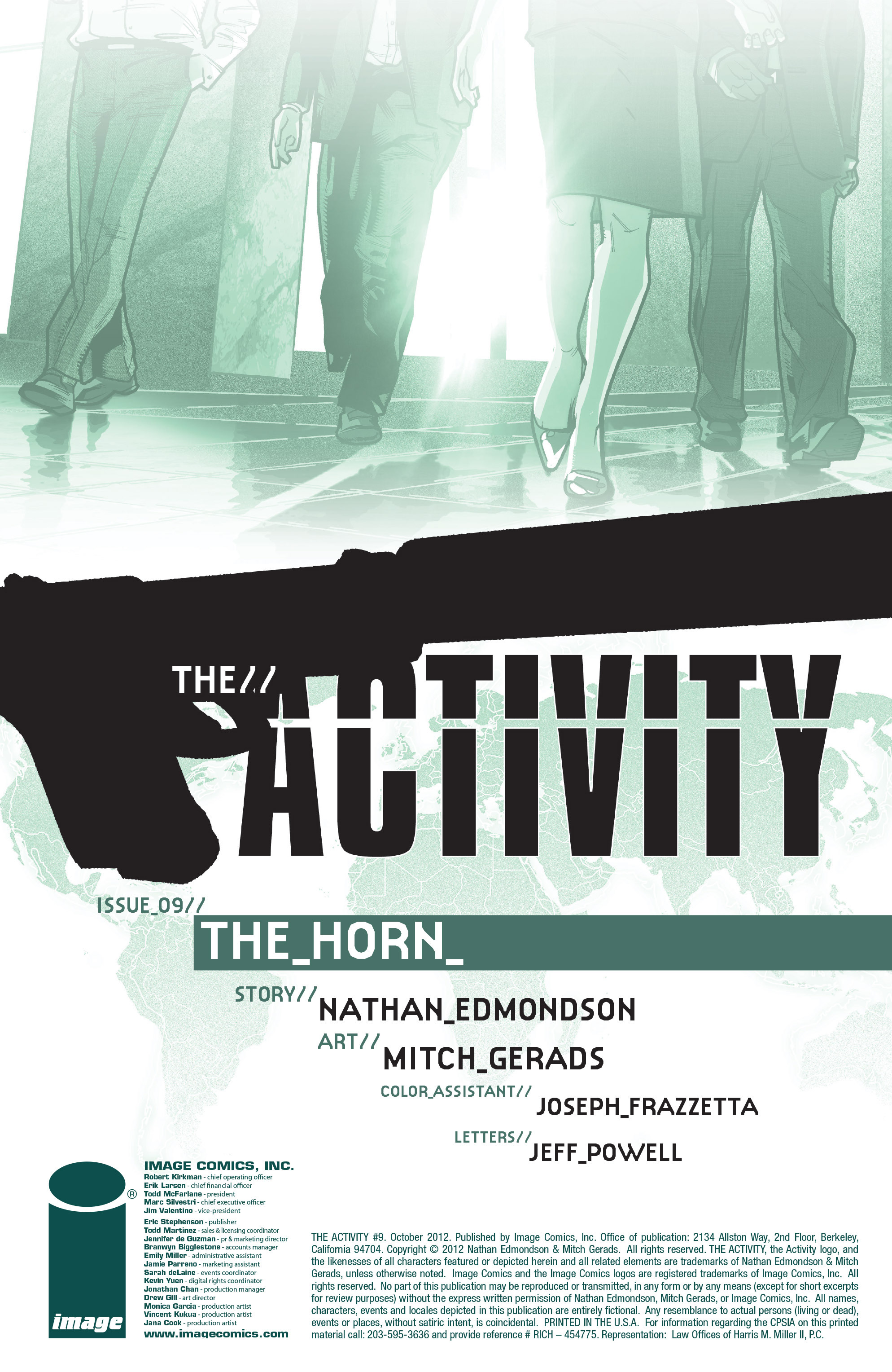 Read online The Activity comic -  Issue #9 - 2