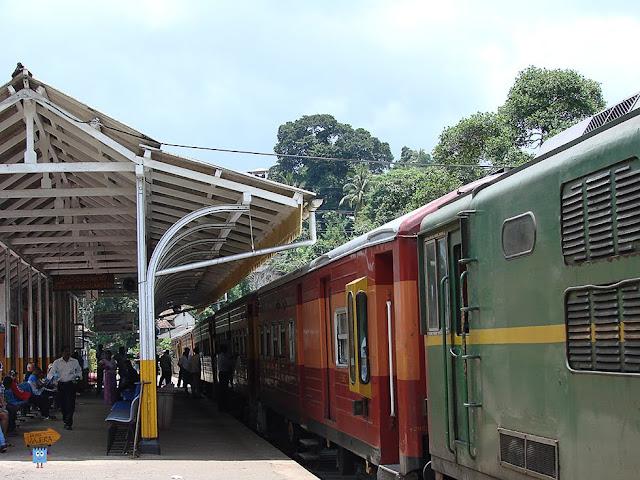 Tren Kandy-Nuwara Eliya