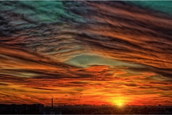 gün batımı manzara resimleri