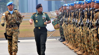 Janji Setia ke Presiden, Ini Pidato Lengkap Panglima di HUT 72 TNI
