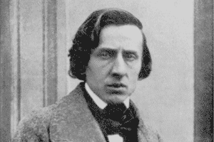 Frédéric Chopin, uno de los compositores románticos más importantes