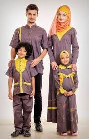 Model Baju Muslim couple