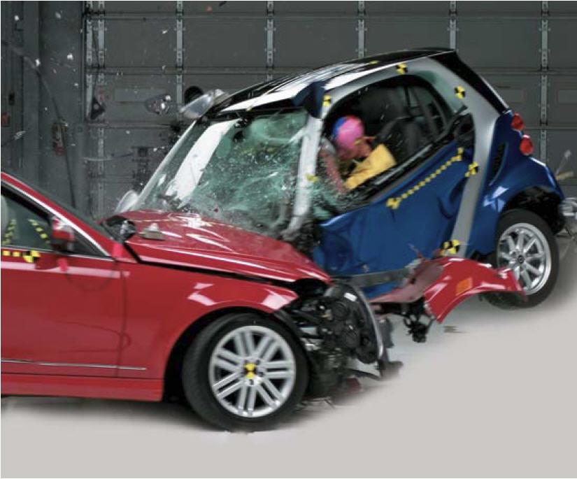 Smart Car Accident Photos