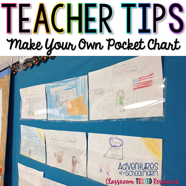 Make Your Own Pocket Chart! Classroom Tested Resources
