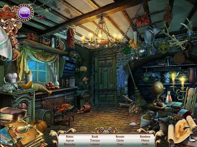تحميل لعبة الهروب من بيت الغابة THE SPELL العاب البحث عن الاشياء المفقودة رعب مجانا  للكمبيوتر برابط مباشر