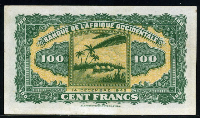 French West African franc currency money CFA