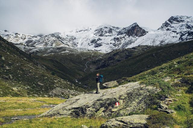 Plattenspitze – Punta delle Laste 3.422m  Bergtour-Martelltal  Wanderung-Martell  Wandern-Südtirol 06