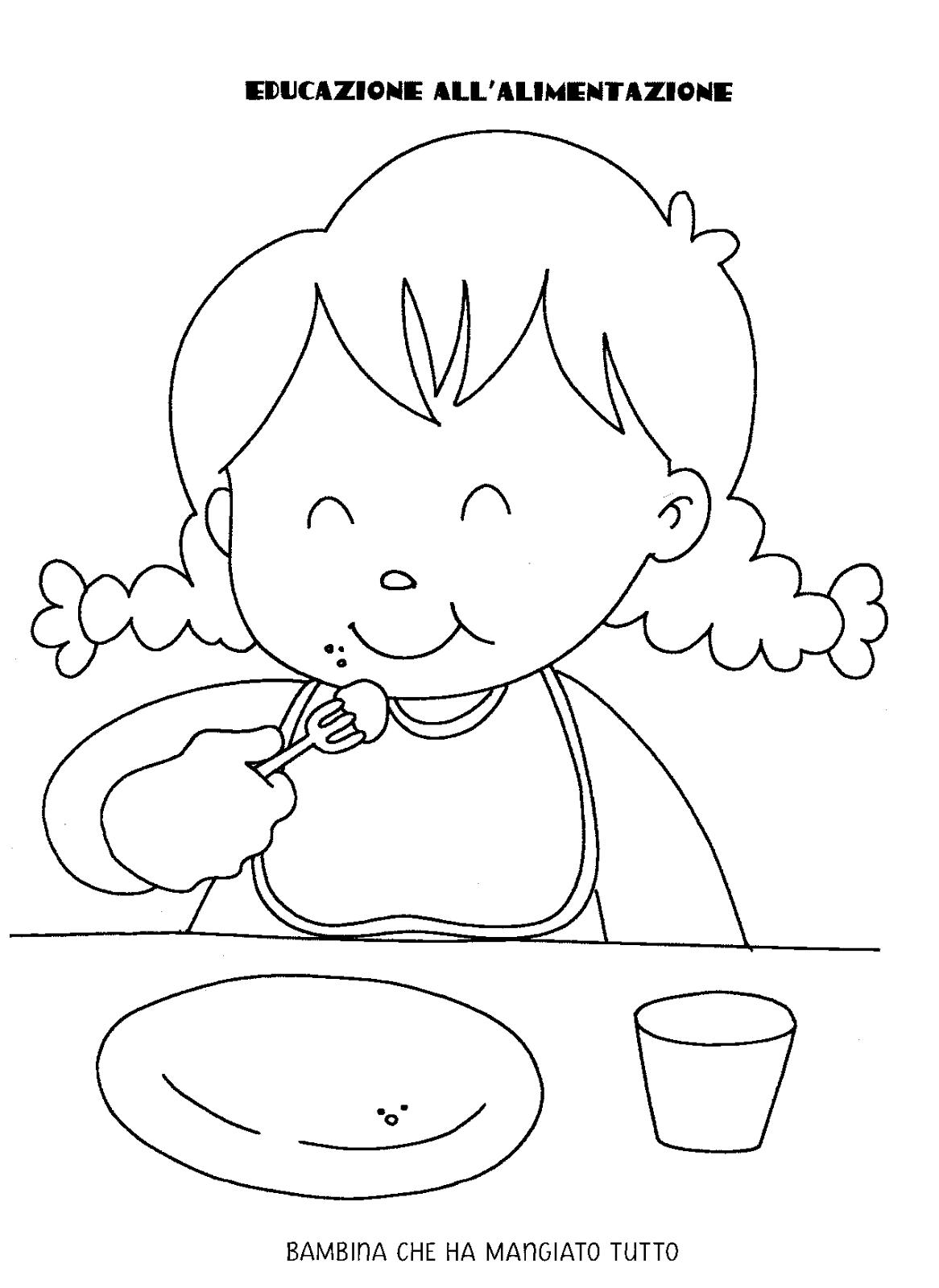 La maestra linda educazione alimentare for Maestra gemma scuola dell infanzia