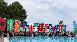 Yurtdışı yaz kamplarından örnek bir kare