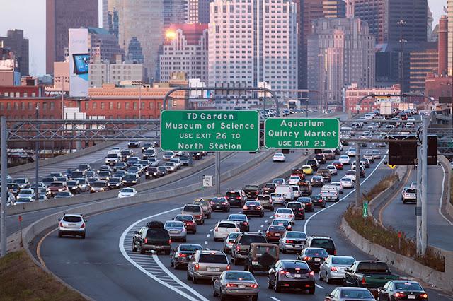 Como dirigir em Boston