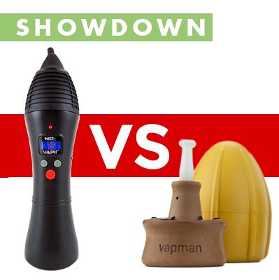 Vapir NO2 vs Vapman Vape Showdown