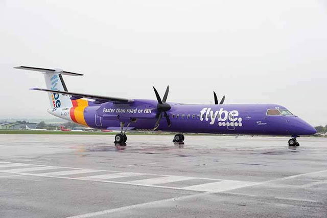 FLYBE turboprop