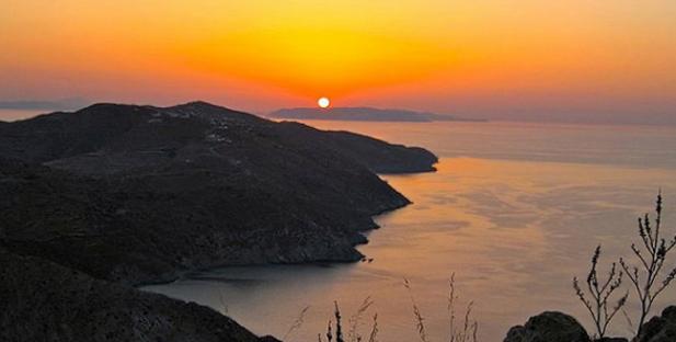 ηλιοβασίλεμα-Ελλάδα-καλοκαίρι-ήλιος-θάλασσα-Άνω Μερά-Φολέγανδρος