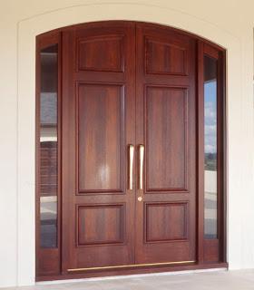 Puertas de madera de teca