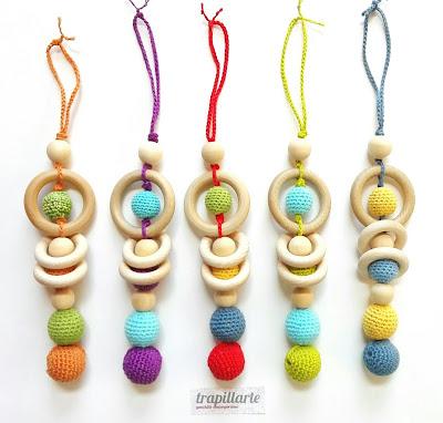 juguetes de madera, juguetes de ganchillo, ganchillo, madera
