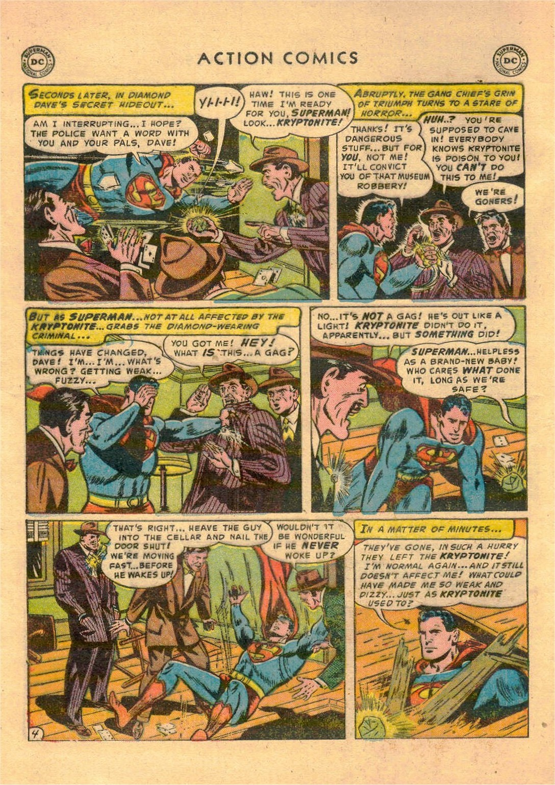 Read online Action Comics (1938) comic -  Issue #181 - 5
