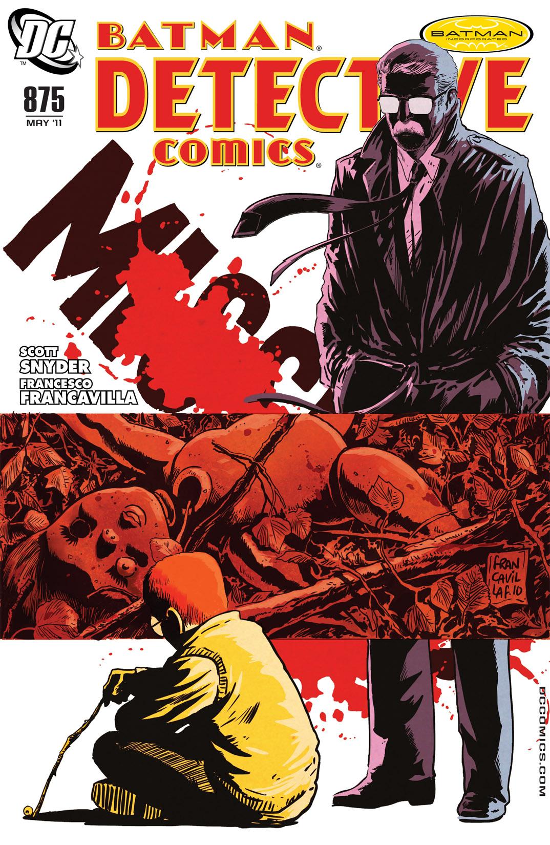 Detective Comics (1937) 875 Page 1