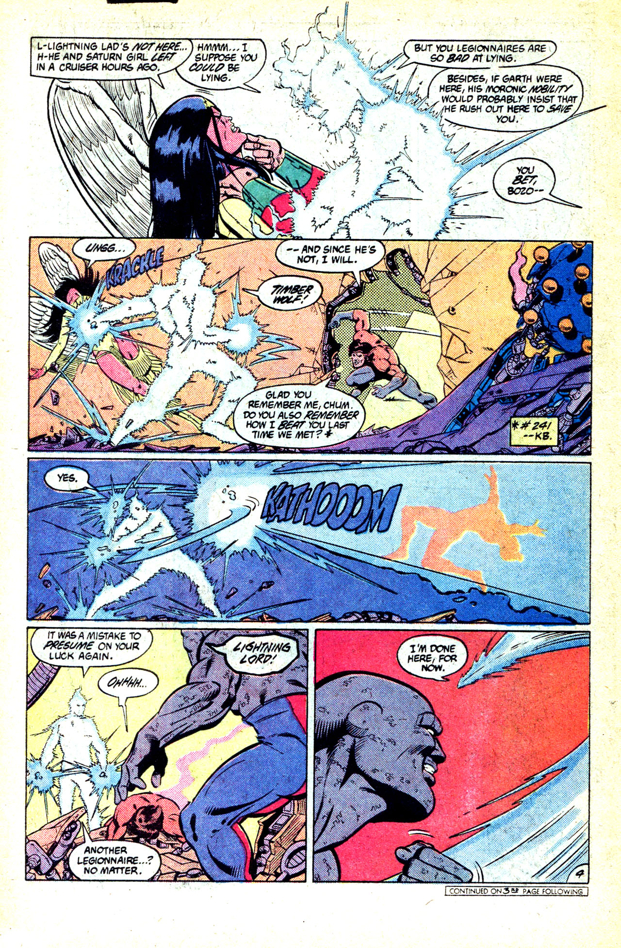 Legion of Super-Heroes (1980) 302 Page 5
