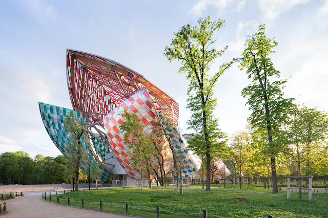 "Fondation Louis Vuitton's ""Observatory of Light"" by Visual Artist Daniel Buren"