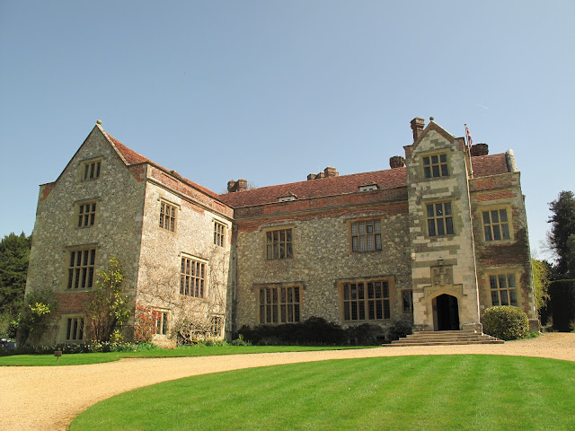 Chawton House itself! In Jane's day, the walls were covered in white stucco.