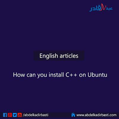How can you install C++ on Ubuntu