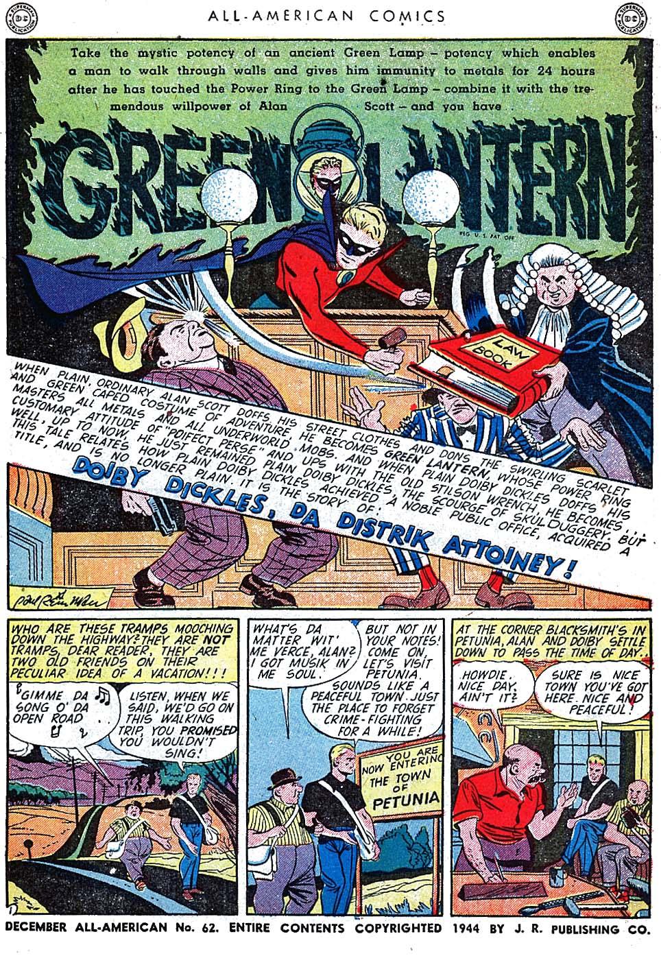 Read online All-American Comics (1939) comic -  Issue #62 - 3