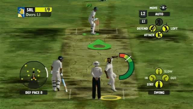 Ashes Cricket 2009 Gameplay