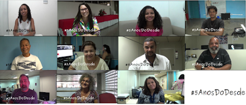 #5AnosDoDesde: comemoração!