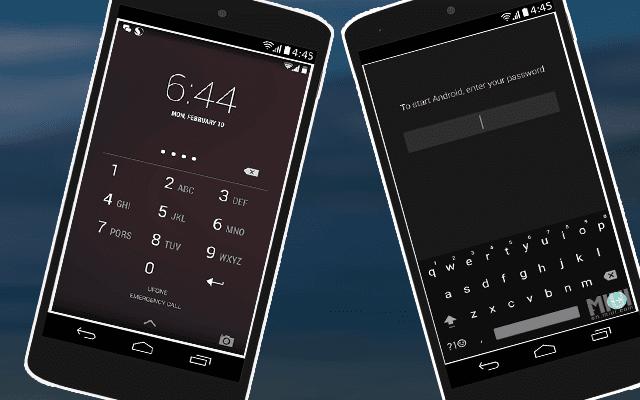 تعرف الفرق بين إغلاق شاشة قفل الهاتف بال PASSWORD و ال PIN ومن هو الأفضل