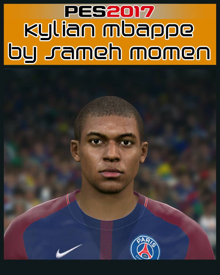 Pes 2017 Lucas Biglia Face By Sameh Momen: PES2017 Kylian Mbappe Face By Sameh Momen