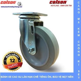 Bánh xe đẩy cao su đặc giá rẻ SP Caster Colson Mỹ tại Gia Lai www.banhxedayhang.net