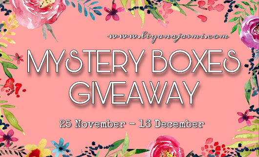 Mystery Boxes Giveaway by Liyana Jasmi