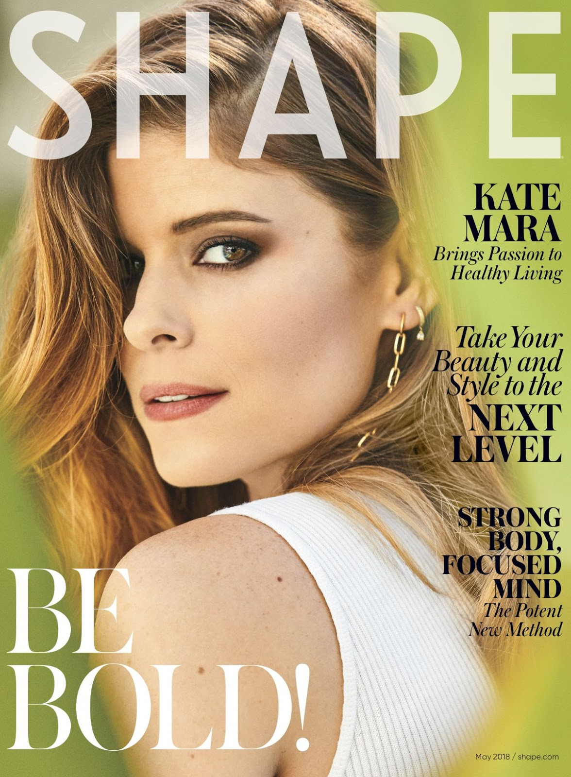 Kate Mara covers Shape Magazine May 2018