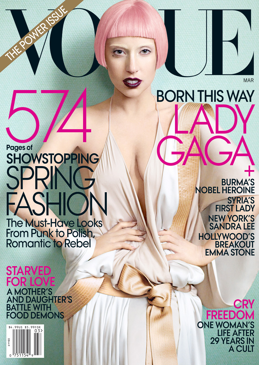 Vogue Usa Magazine Subscription: Opening My Mind: Lady Gaga On The Cover Of Vogue USA