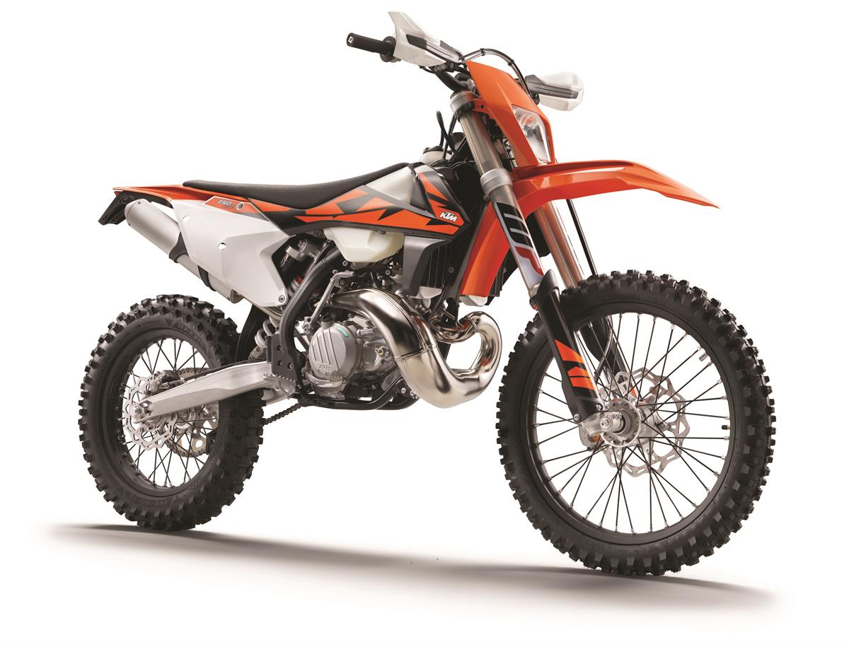To compliment the brand new my2018 exc line up ktm has released the latest ktm powerparts and ktm powerwear range with some of the most striking